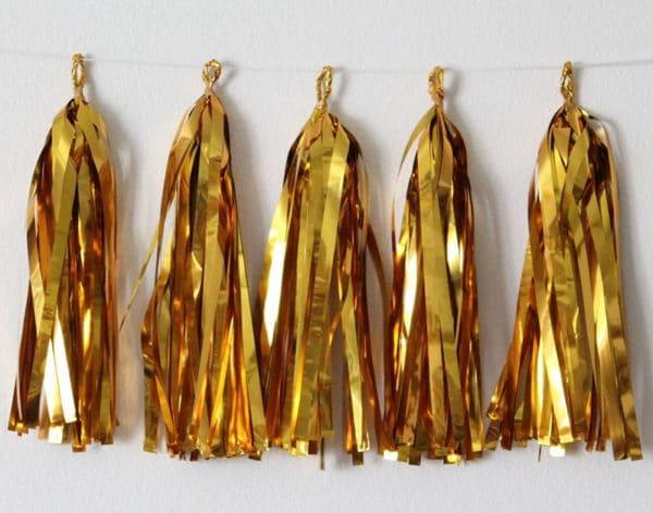 Tassels Garlands Gold